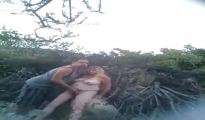 Public sex with a plump wife