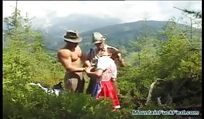 Domestic sex in the mountains