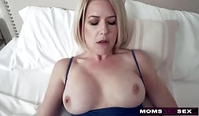 Sweet sex with silicone mommy