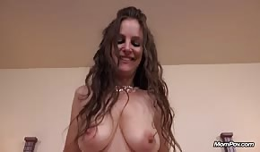 Loose tits of a bitch fucked in a hotel