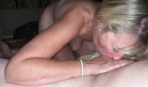 A mature amateur sucks like a vacuum cleaner