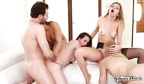 Group porn with sexy ladies