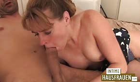 Mature babe rides a dick before fucking